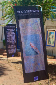 Georgetown Celebrates the Arts • Outdoor Banner Exhibition